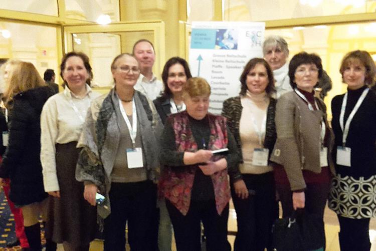 A lelkes magyar csapat egy része a kongresszuson